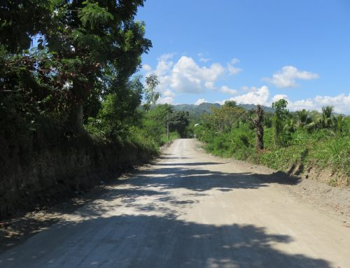Upgrading of Tantangan (Tinago-Dumadalig Road)